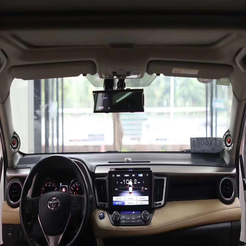 丰田RV4全套日本必伟汽车音响升级